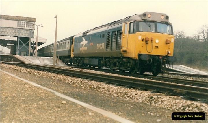 1986-02-02 Yeovil Junction.  (2)0037
