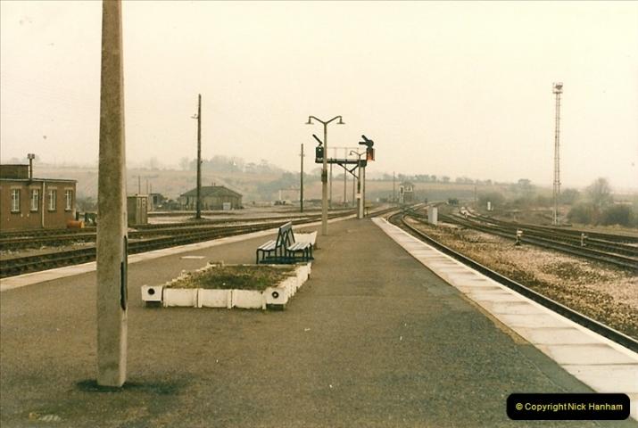 1986-02-02 Yeovil Junction.  (7)0042