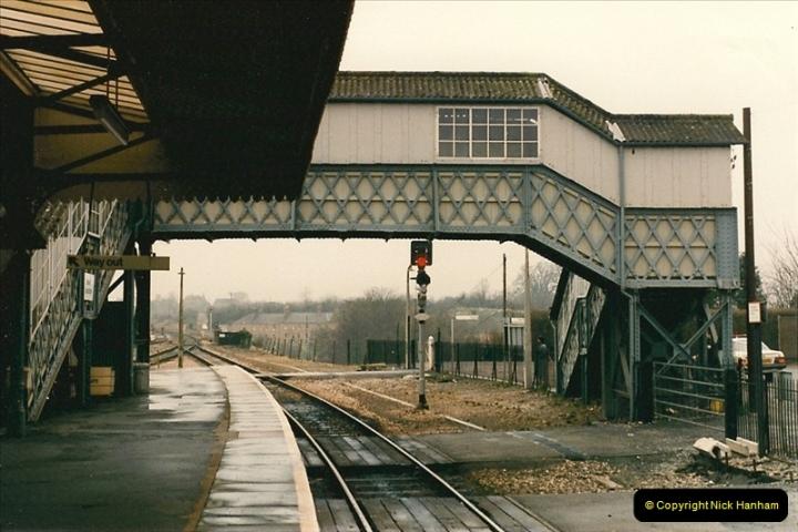 1986-02-02 Yeovil Junction.  (9)0044
