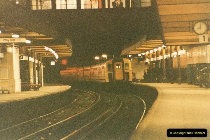 1986-03-06 Southampton Central.  (11)0067