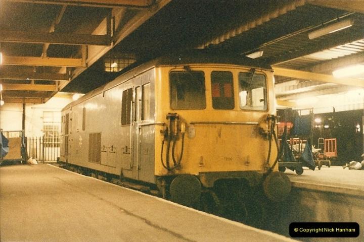 1986-03-06 Southampton Central.  (5)0061