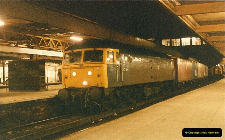 1986-03-06 Southampton Central.  (7)0063