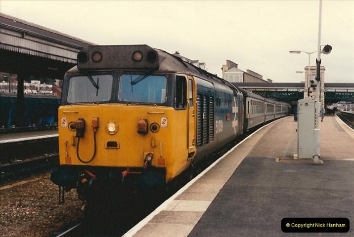 1986-03-22 Exeter St. Davids.  (18)0090