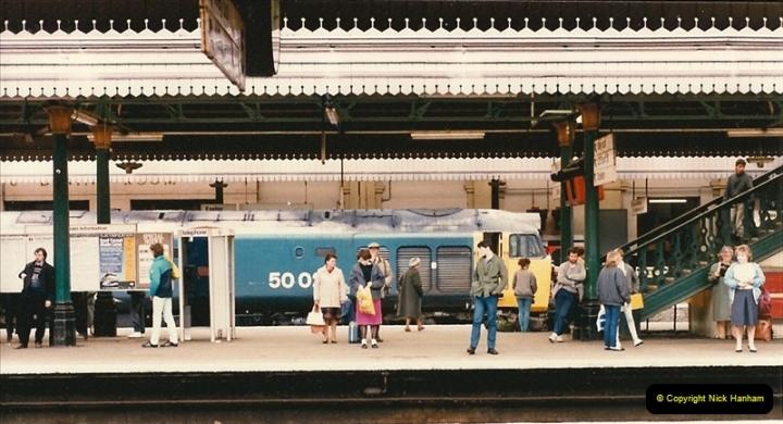 1986-03-22 Exeter St. Davids.  (3)0075