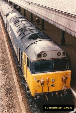 1986-03-22 Exeter St. Davids.  (6)0078