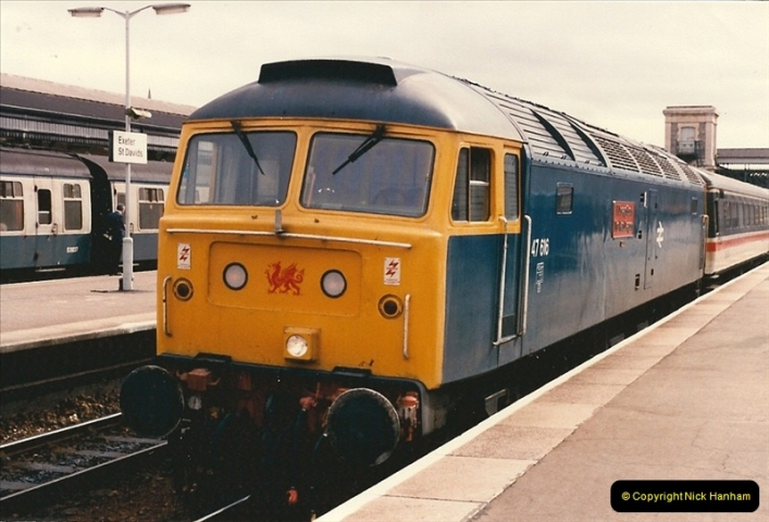 1986-03-22 Exeter St. Davids.  (8)0080