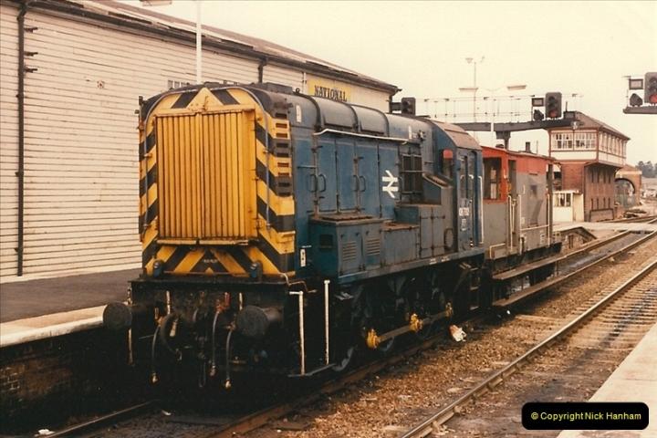 1986-03-24 Exeter St. Davids.  (2)0124