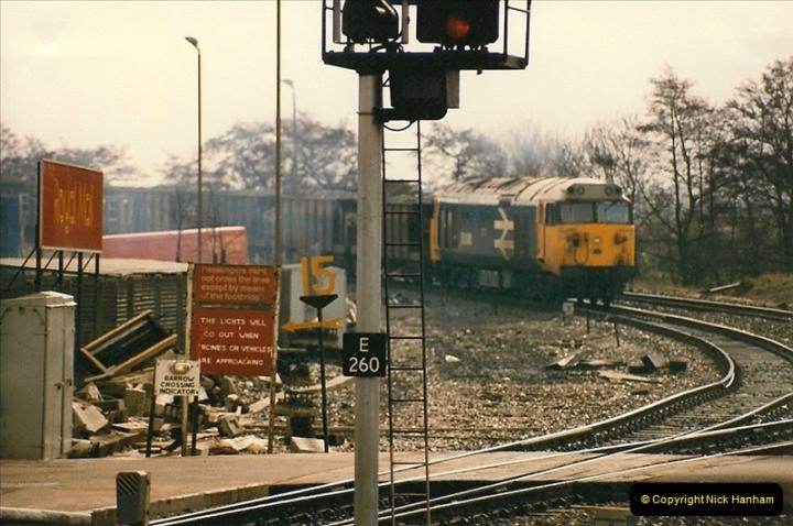 1986-03-24 Exeter St. Davids.  (32)0154