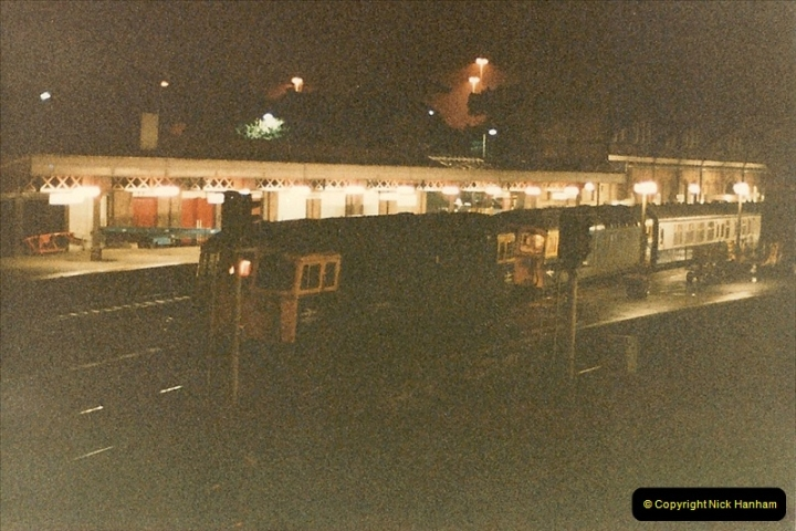 1986-08-19 The up SWTPO double headed @ Bournemouth, Dorset.0186