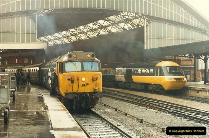 1987-08-21 to 23 Bristol Temple Meads, Bristol. (26)0658