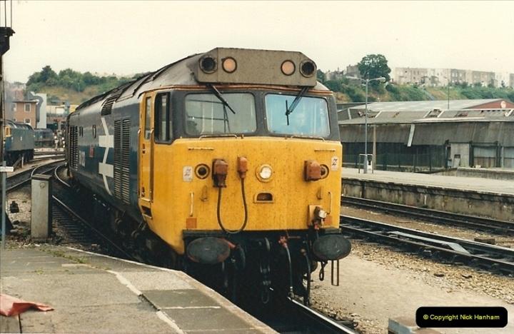1987-08-21 to 23 Bristol Temple Meads, Bristol. (27)0659