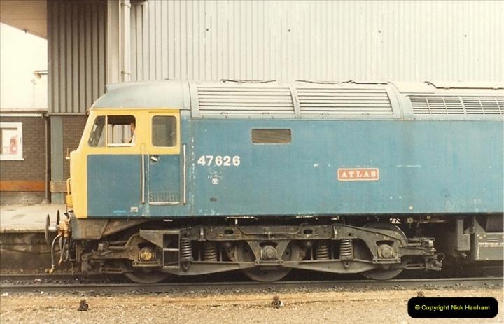 1987-08-21 to 23 Bristol Temple Meads, Bristol. (42)0674