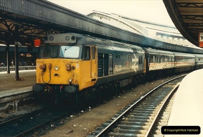 1987-08-21 to 23 Bristol Temple Meads, Bristol. (5)0637
