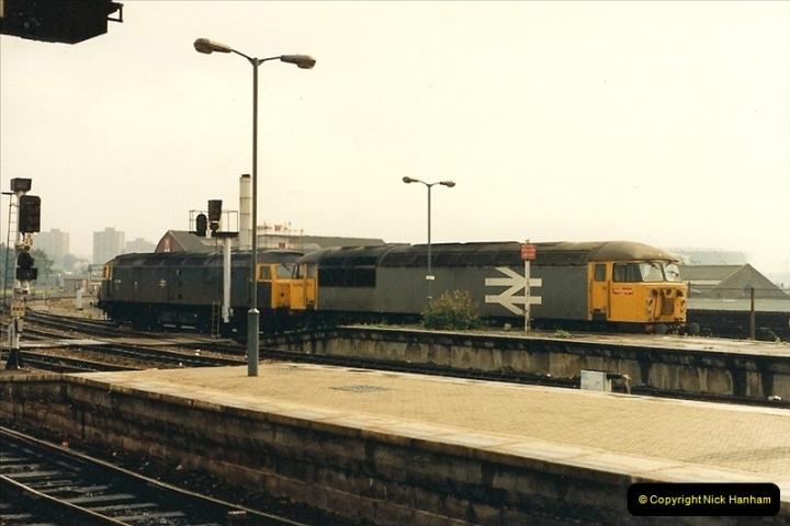 1987-08-21 to 23 Bristol Temple Meads, Bristol. (56)0688