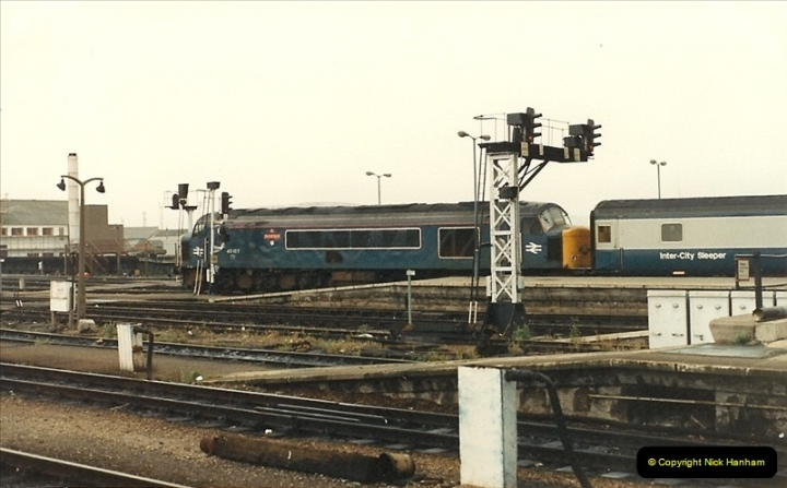1987-08-21 to 23 Bristol Temple Meads, Bristol. (58)0690