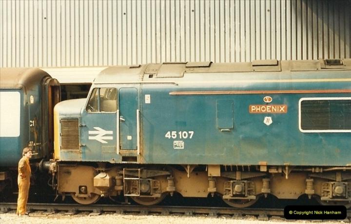 1987-08-21 to 23 Bristol Temple Meads, Bristol. (60)0692