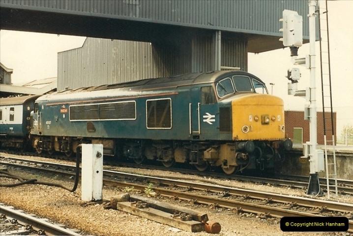 1987-08-21 to 23 Bristol Temple Meads, Bristol. (61)0693