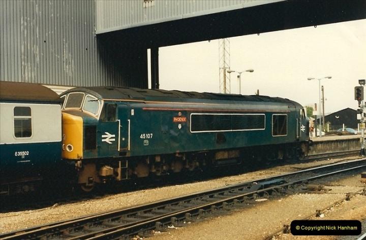 1987-08-21 to 23 Bristol Temple Meads, Bristol. (62)0694