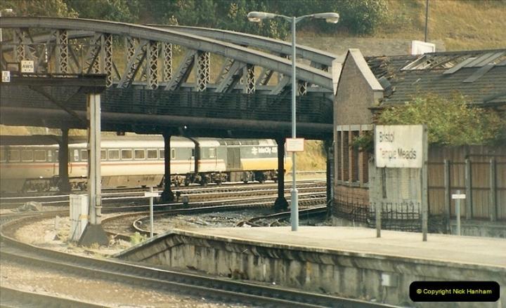 1987-08-21 to 23 Bristol Temple Meads, Bristol. (66)0698