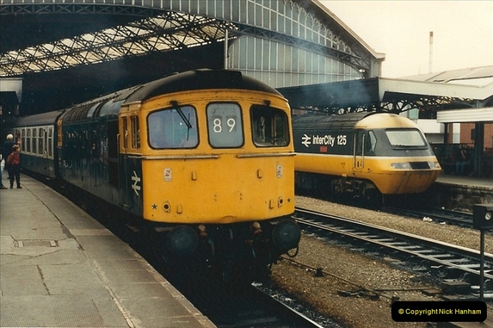 1987-08-21 to 23 Bristol Temple Meads, Bristol. (75)0707
