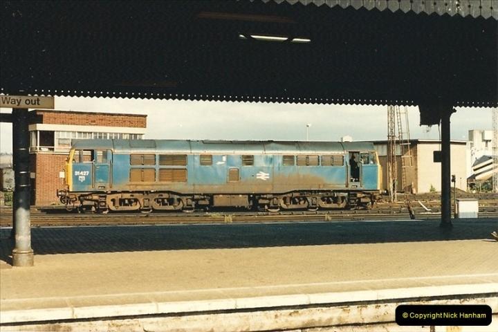 1987-08-21 to 23 Bristol Temple Meads, Bristol. (78)0710