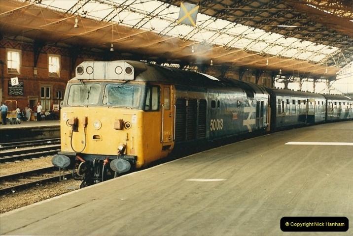 1987-08-21 to 23 Bristol Temple Meads, Bristol. (83)0715