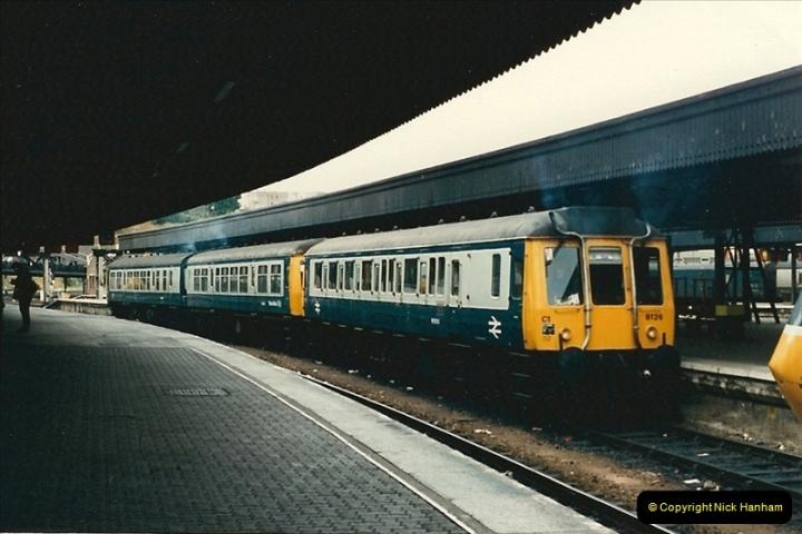 1987-09-21 to 23 Bristol Temple Meads, Bristol.  (100)0732