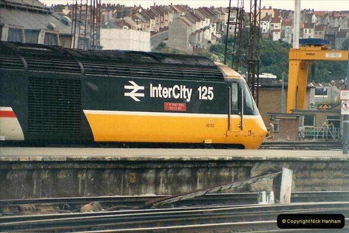 1987-09-21 to 23 Bristol Temple Meads, Bristol.  (92)0724