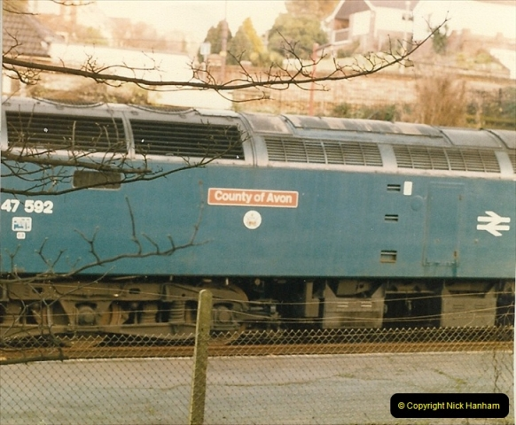 1986-03-26 Parkstone, Poole, Dorset.  (1)0120