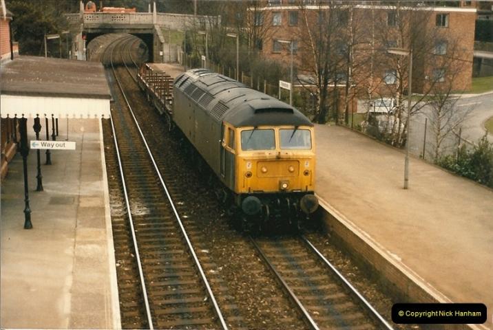 1986-03-26 Parkstone, Poole, Dorset.  (2)0121