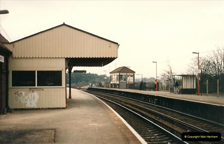1987-10-13 Hamworthy Junction, Poole, Dorset.  (2)0368