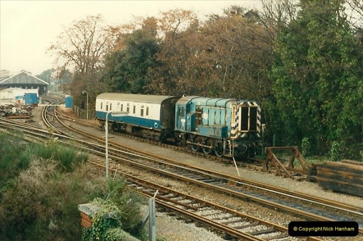 1987-11-05 Bournemouth Depot, Bournemouth, Dorset.  (1)0431