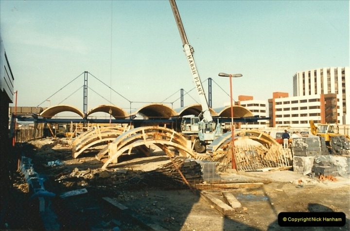 1988-02-15 The New Poole station takes shape.  (5)0464