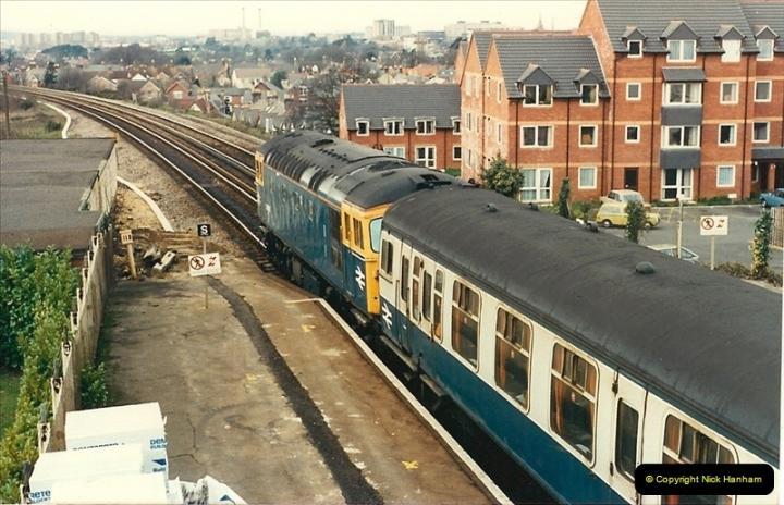 1988-02-18 Branksome & Parkstone, Poole, Dorset.  (5)0480
