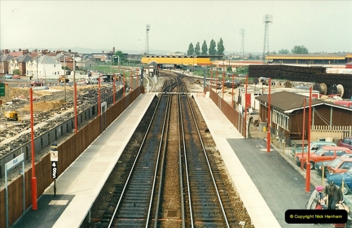 1988-05-13 Poole station refurbishment and last of the Push & Pull workings (1)0602