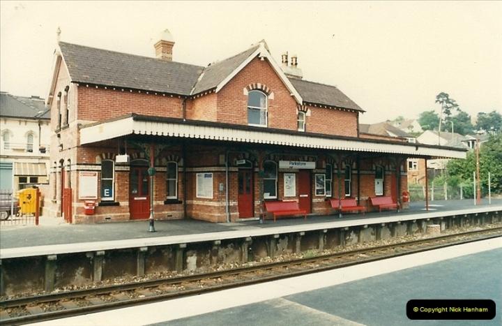 1988-05-14 Parkstone refurbishment now complete.  (3)0615