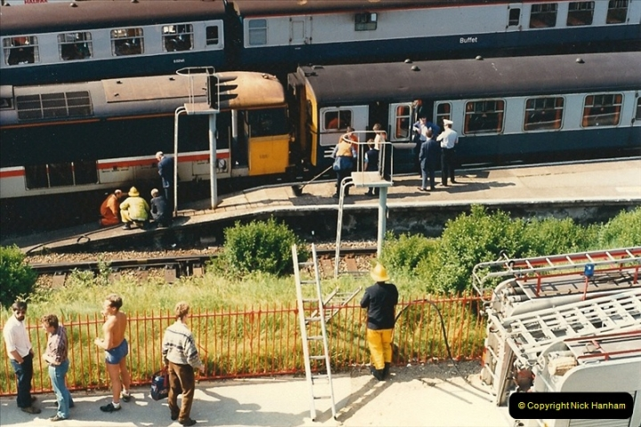 1988-05-17 73111 catches fire @ Bournemouth.  (2)0631
