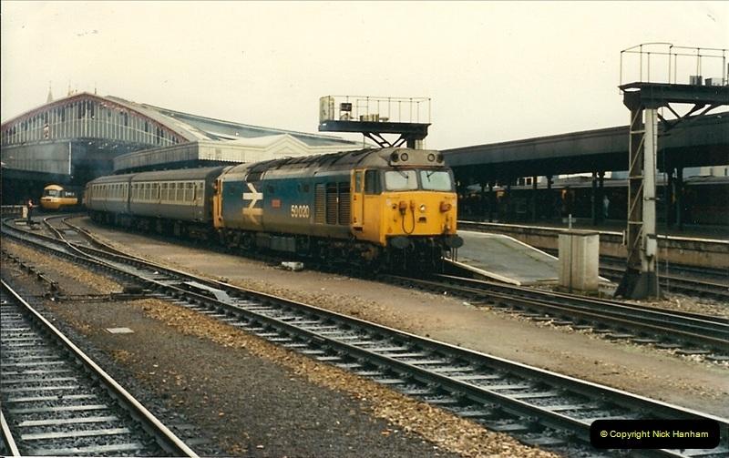 Railways UK 1989 to 1990