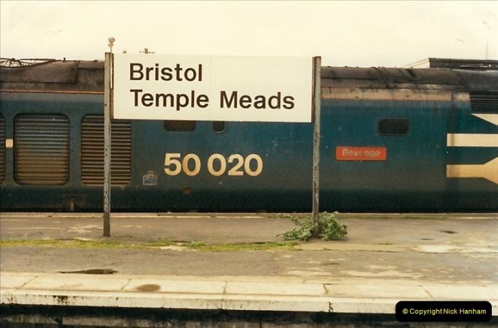 1989-01-17 Bristol Temple Meads, Bristol.  (2)0002