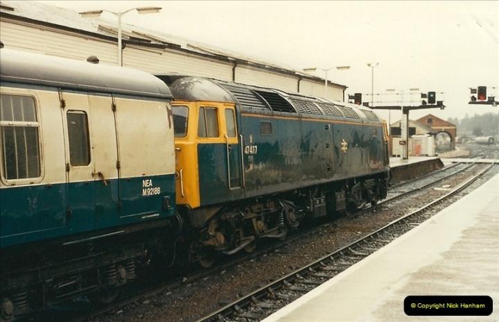 1989-02-25 Exeter St. Davids, Exeter, Devon.  (2)0113