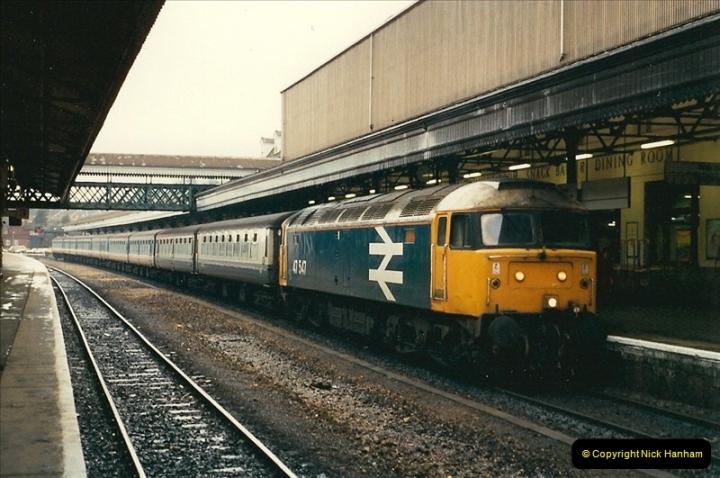 1989-02-25 Exeter St. Davids, Exeter, Devon.  (29)0140