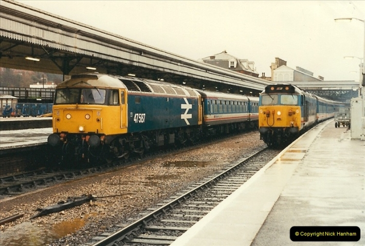 1989-02-25 Exeter St. Davids, Exeter, Devon.  (5)0116