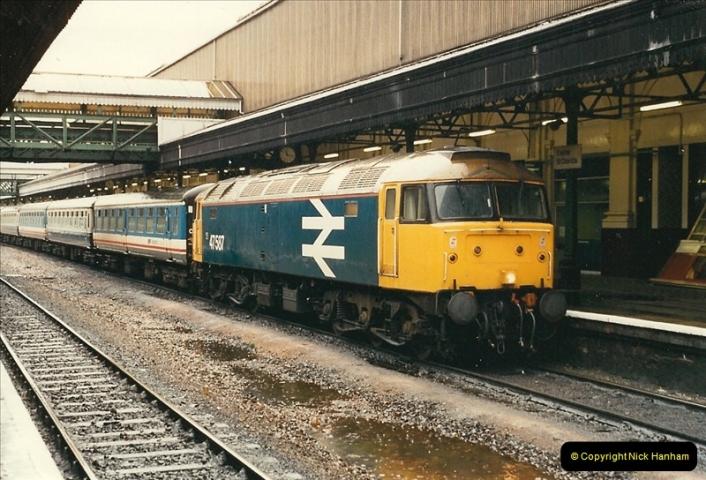 1989-02-25 Exeter St. Davids, Exeter, Devon.  (6)0117