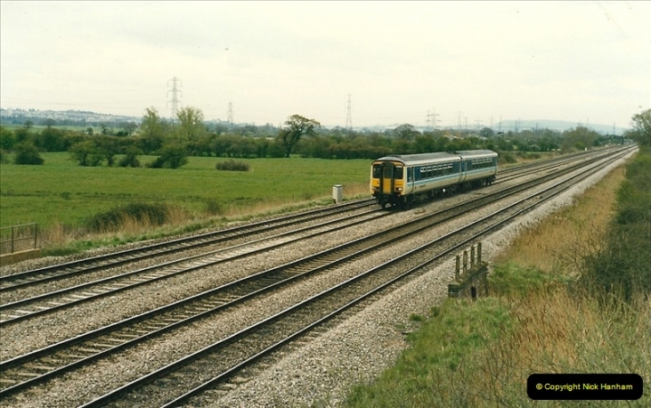 1989-04-16 Between Cardiff & Newport, South Wales.  (3)0262