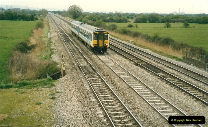 1989-04-16 Between Cardiff & Newport, South Wales.  (4)0263