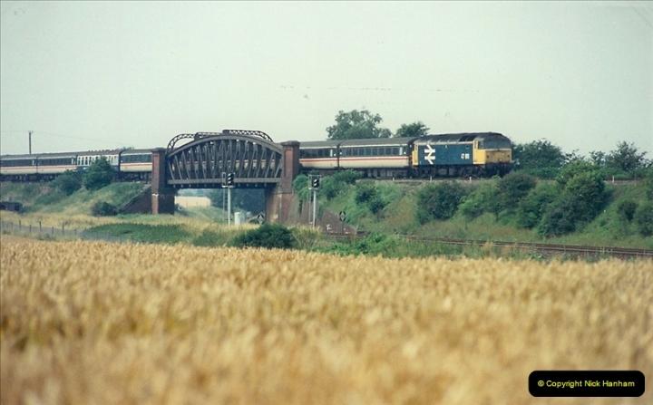 1989-07-25 Battledown Flyover, Basingstoke, Hampshire.  (11)0343