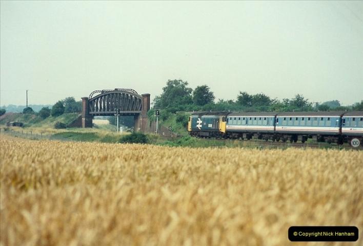 1989-07-25 Battledown Flyover, Basingstoke, Hampshire.  (12)0344