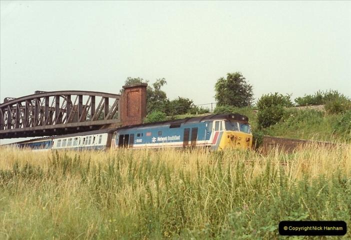 1989-07-25 Battledown Flyover, Basingstoke, Hampshire.  (2)0334