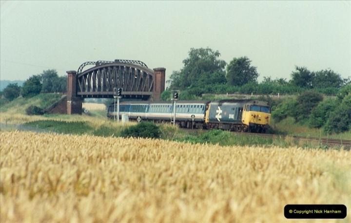 1989-07-25 Battledown Flyover, Basingstoke, Hampshire.  (4)0336