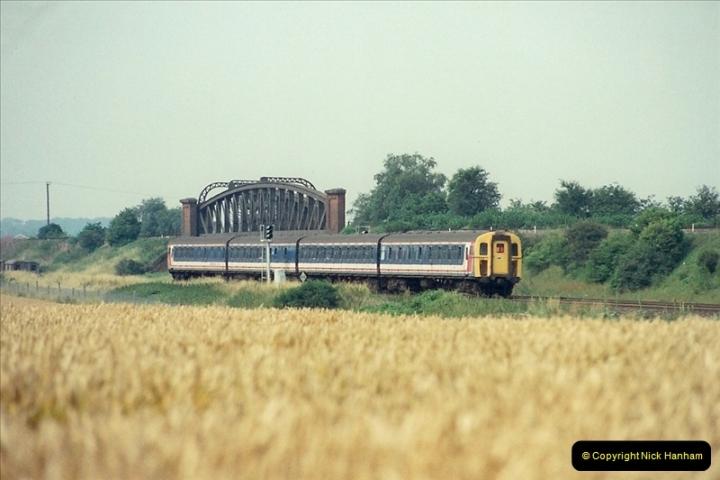 1989-07-25 Battledown Flyover, Basingstoke, Hampshire.  (6)0338